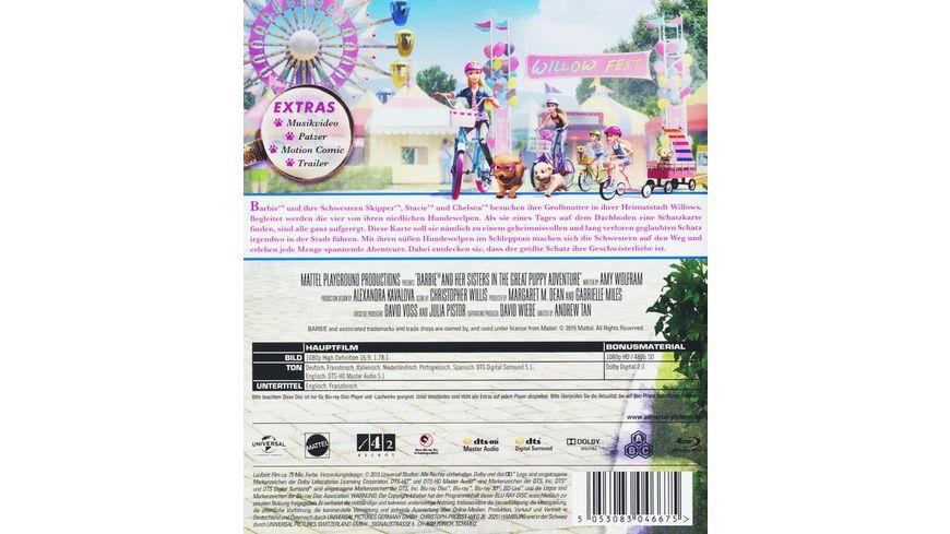 Barbie und ihre Schwestern in Das grosse Hundeabenteuer inkl Digital Ultraviolet