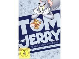Tom Jerry 70 Jahre Jubilaeumsfeier Deluxe DE 2 DVDs