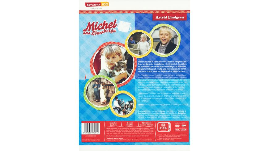 Michel aus Loenneberga TV Serien Box 3 DVDs