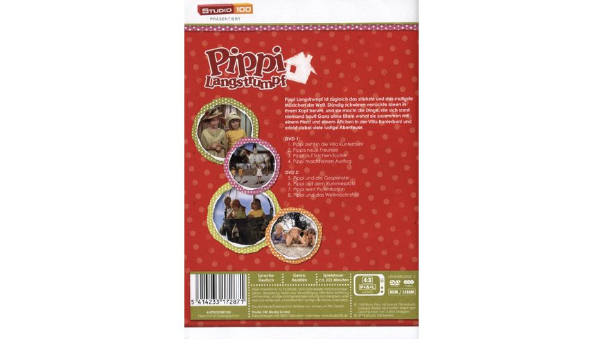 Pippi Langstrumpf TV Serie 1 2 2 DVDs
