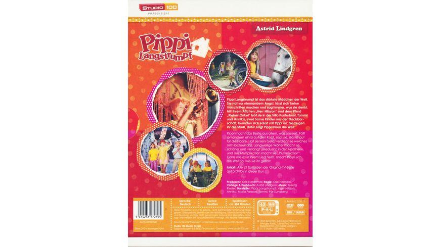 Pippi Langstrumpf TV Serien Box 5 DVDs
