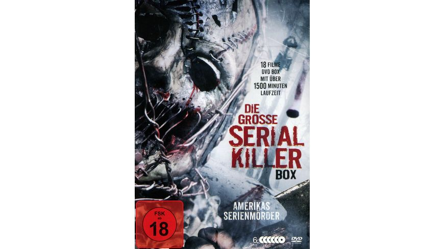 Die grosse Serienkiller Box 6 DVDs