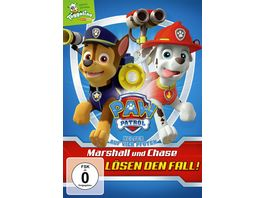 Paw Patrol Marshall und Chase loesen den Fall