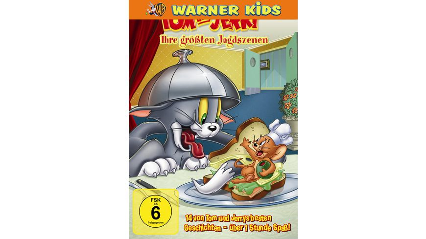 Tom Jerry Ihre groessten Jagdszenen Vol 4 Warner Kids Edition