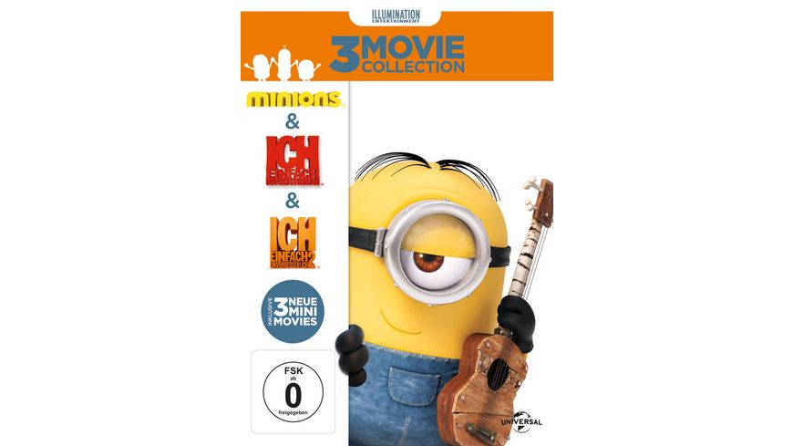 Minions 3 DVDs