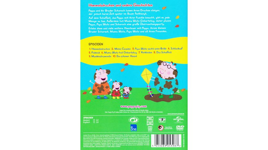 Peppa Pig Vol 5 Himmelsdrachen