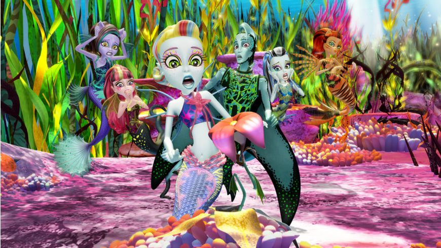 Monster High Das Grosse Schreckensriff inkl Digital HD Ultraviolet