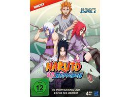Naruto Shippuden Staffel 6 Uncut 4 DVDs