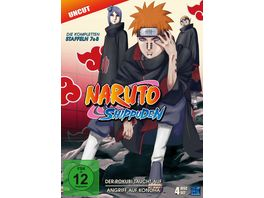 Naruto Shippuden St 7 8 Uncut 4 DVDs