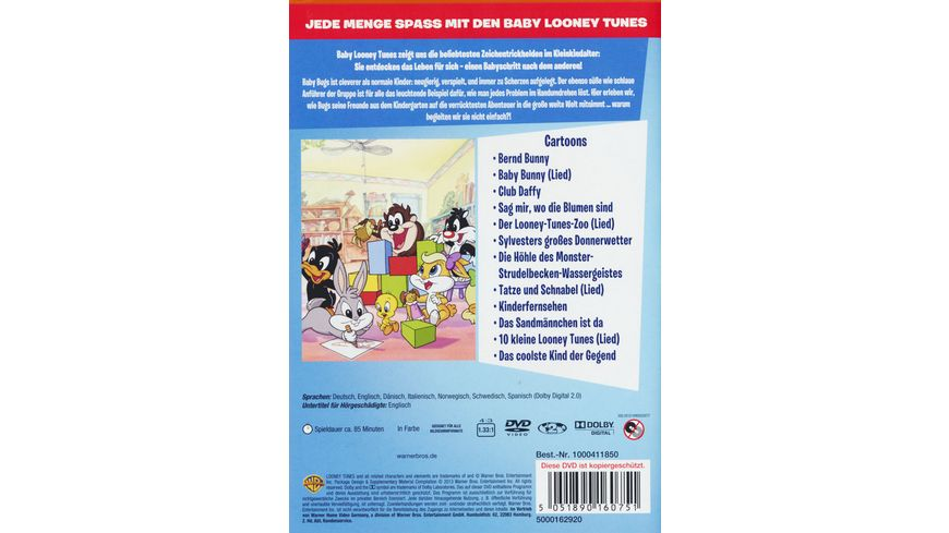 Baby Looney Tunes Baby Bugs