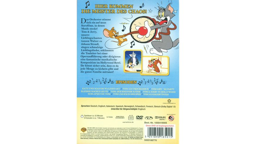 Tom Jerry Chaos Konzert