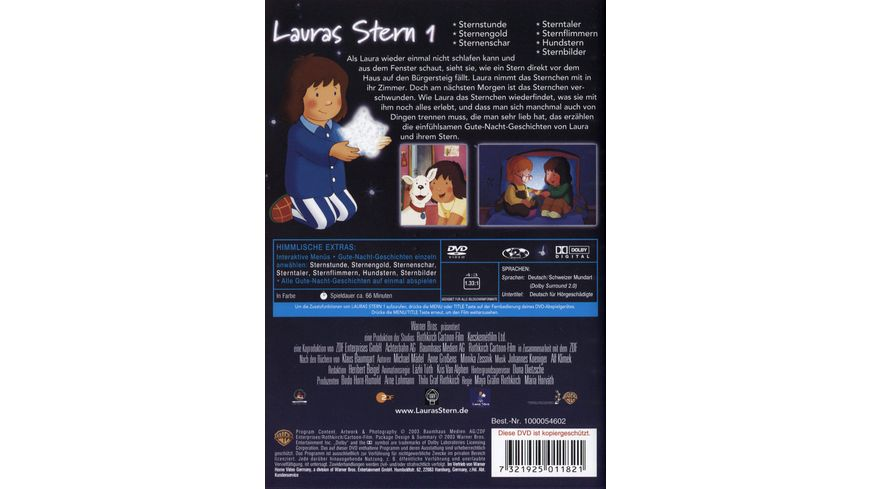 Lauras Stern 1 Warner Kids Edition