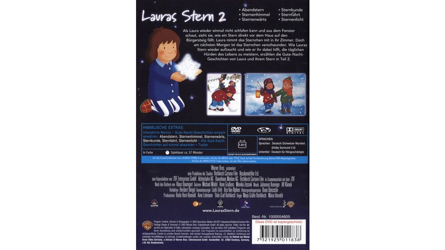 Lauras Stern 2 Warner Kids Edition