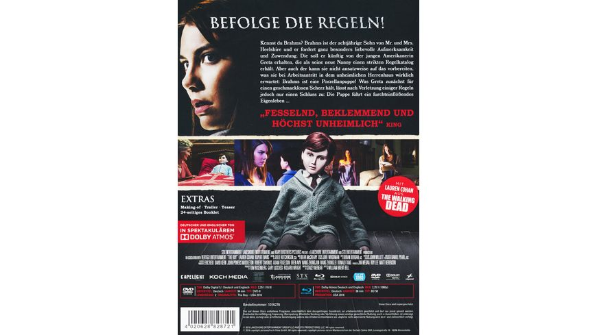 The Boy Mediabook DVD