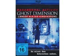 Paranormal Activity The Ghost Dimension Extended Version