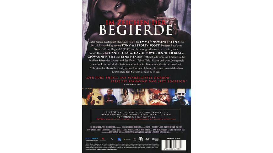 Begierde Die komplette Serie 8 DVDs