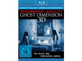 Paranormal Activity The Ghost Dimension Extended Cut Blu ray
