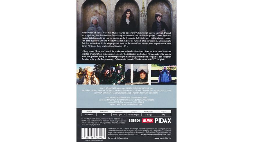 Minty in der Mondzeit 2 DVDs