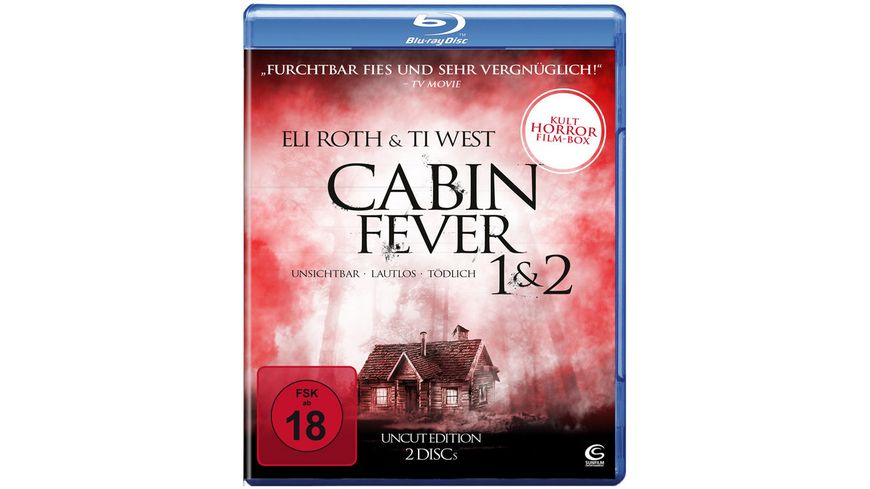Cabin Fever 1 2 Uncut Edition 2 BRs