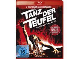 Tanz der Teufel 1 Uncut Remastered Version Bonus Blu ray