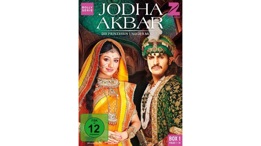 Jodha Akbar Die Prinzessin und der Mogul Box 1 Folge 1 14 3 DVDs