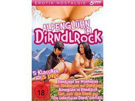 Alpengluehn im Dirndlrock 5 DVDs