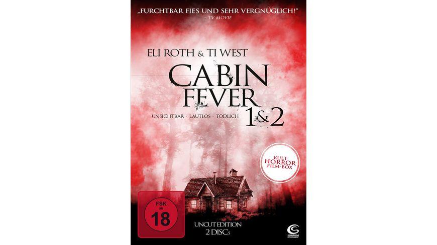 Cabin Fever 1 2 Uncut Edition 2 DVDs