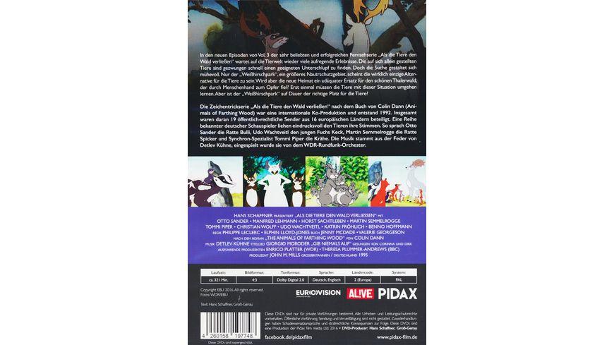 Als die Tiere den Wald verliessen Staffel 3 2 DVDs Remastered Edition