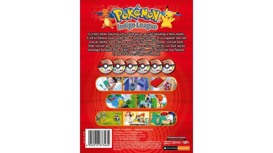 Pokemon Staffel 1 Indigo League 6 DVDs
