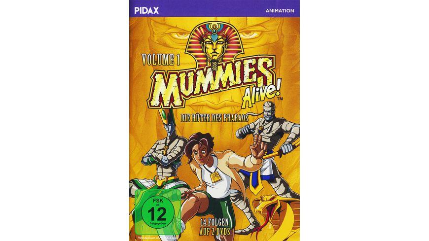 Mummies Alive Die Hueter des Pharaos Vol 1 2 DVDs
