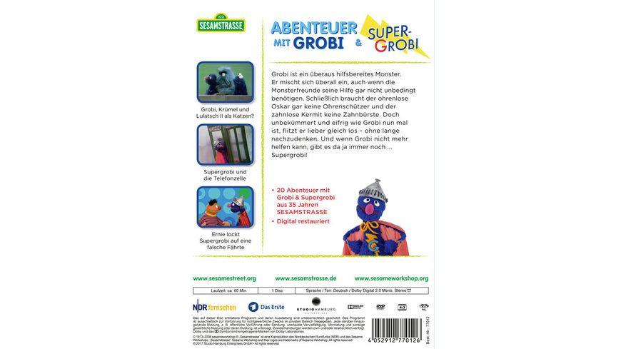 Sesamstrasse Abenteuer mit Grobi Supergrobi