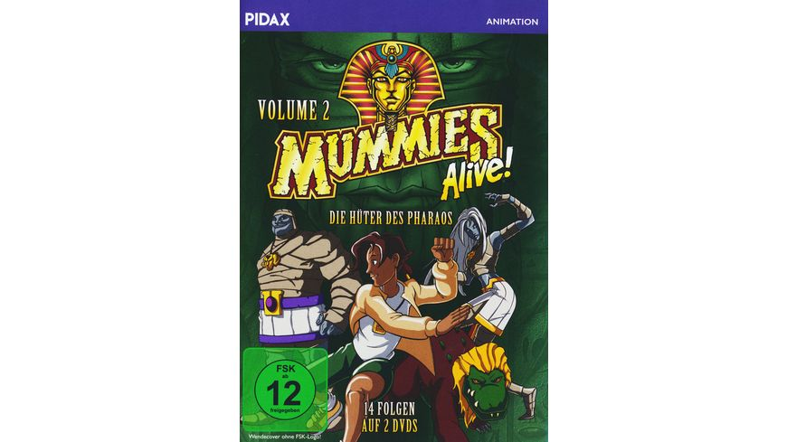 Mummies Alive Die Hueter des Pharaos Vol 2 2 DVDs
