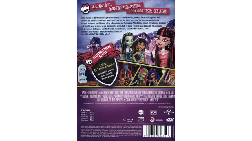Monster High Mega Monsterparty