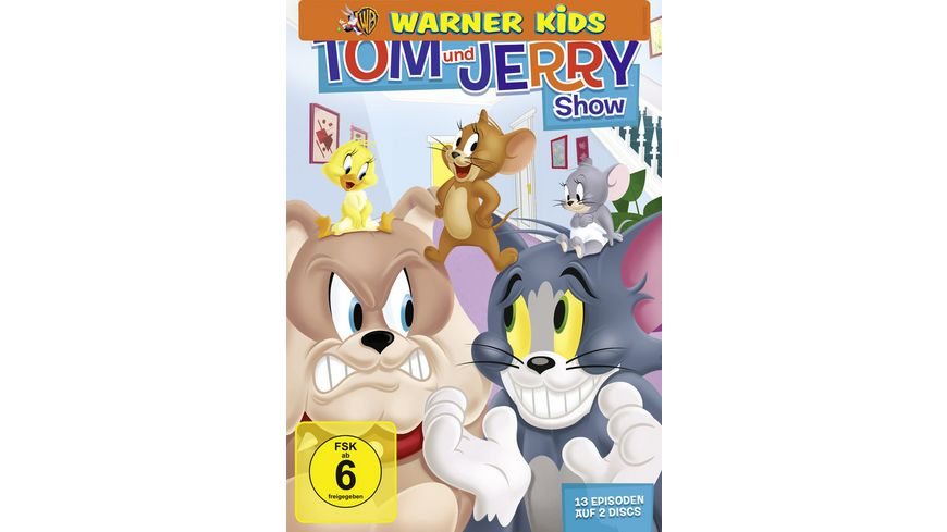 Tom Jerry Show Staffel 1 Teil 1 2 DVDs