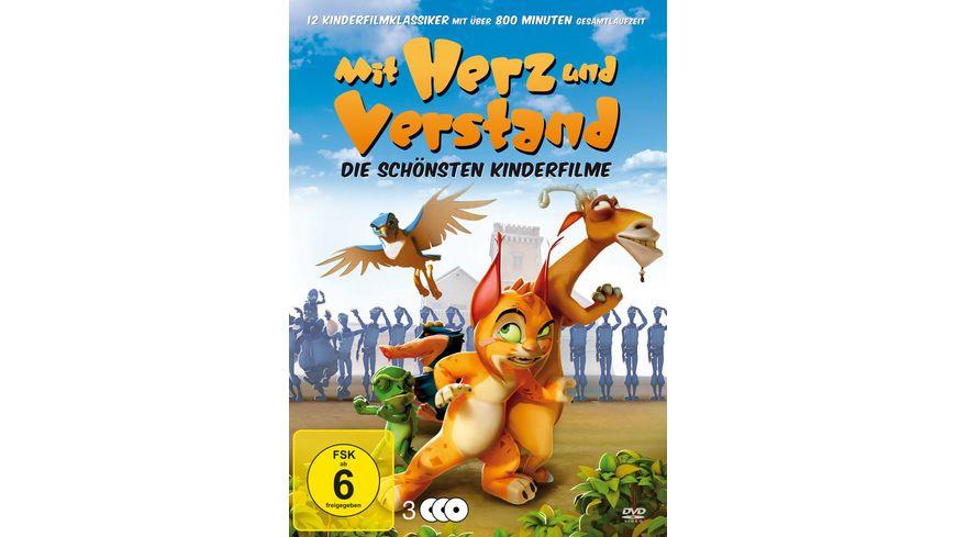 Mit Herz und Verstand Die schoensten Kinderfilme 3 DVDs