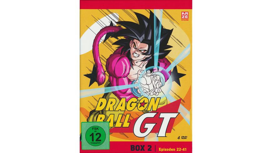 Dragonball GT Box 2 Episode 22 41 4 DVDs