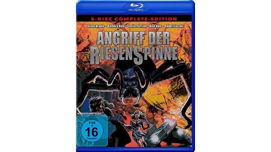 Angriff der Riesenspinne Complete Edition DVD