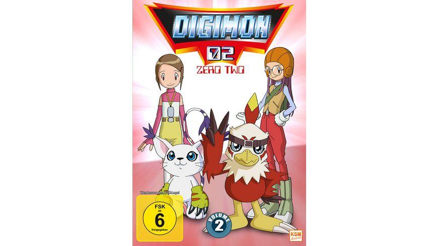 Digimon Adventure 02 Volume 2 Episode 18 34 3 DVDs