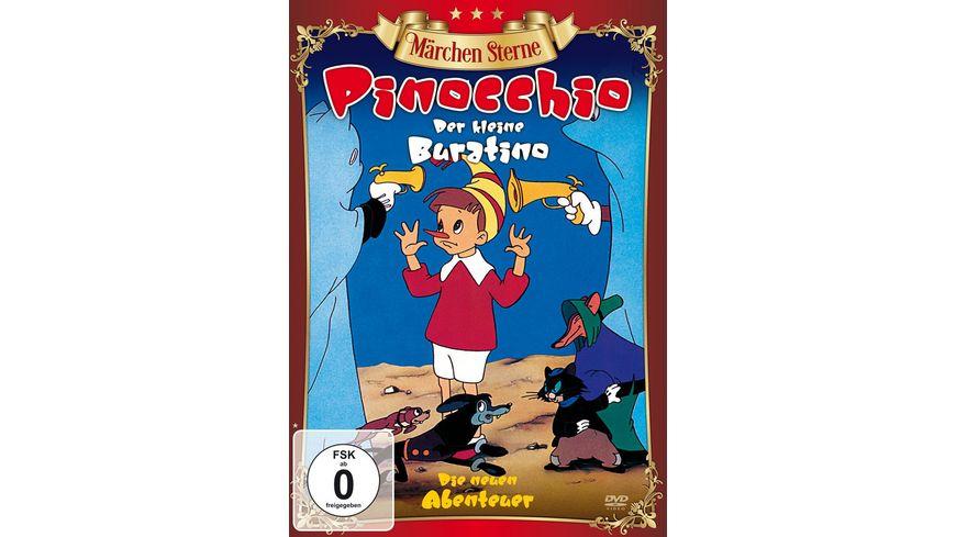 Pinocchio Der kleine Buratino Maerchen Sterne