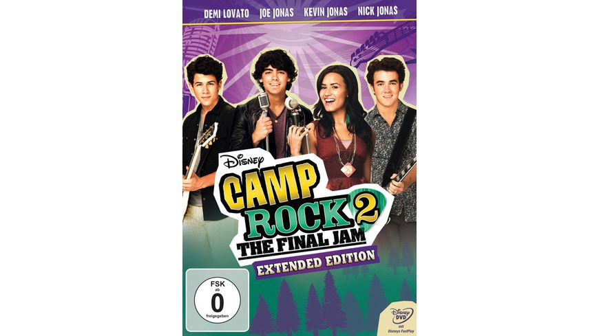 Camp Rock 2 The Final Jam Extended Edition