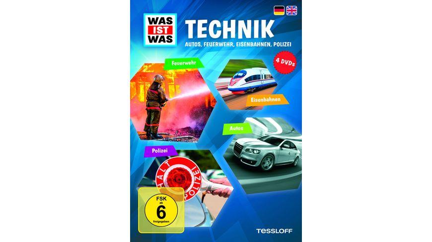 Was ist Was Box 3 Technik 4 DVDs