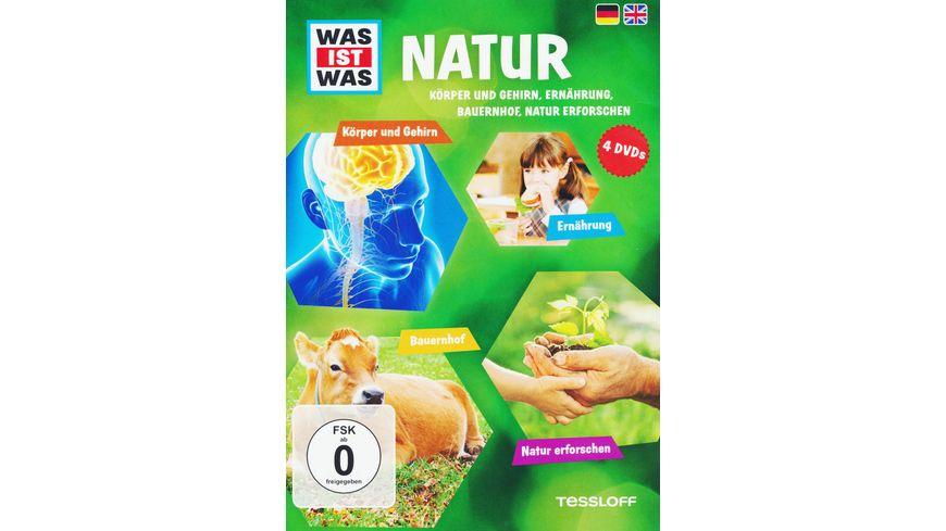 Was ist Was Box 5 Natur 2 4 DVDs