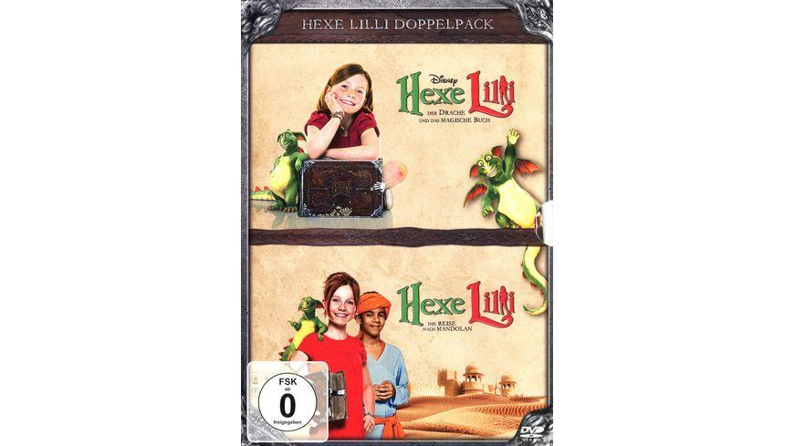 Hexe Lilli Der Drache und das magische Buch Die Reise nach Mandolan 2 DVDs
