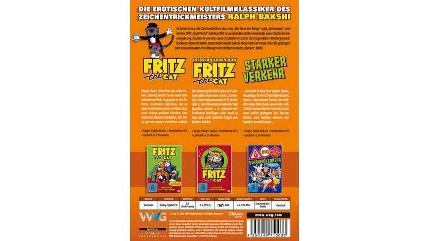 Die grosse Fritz the Cat Box 3 DVDs