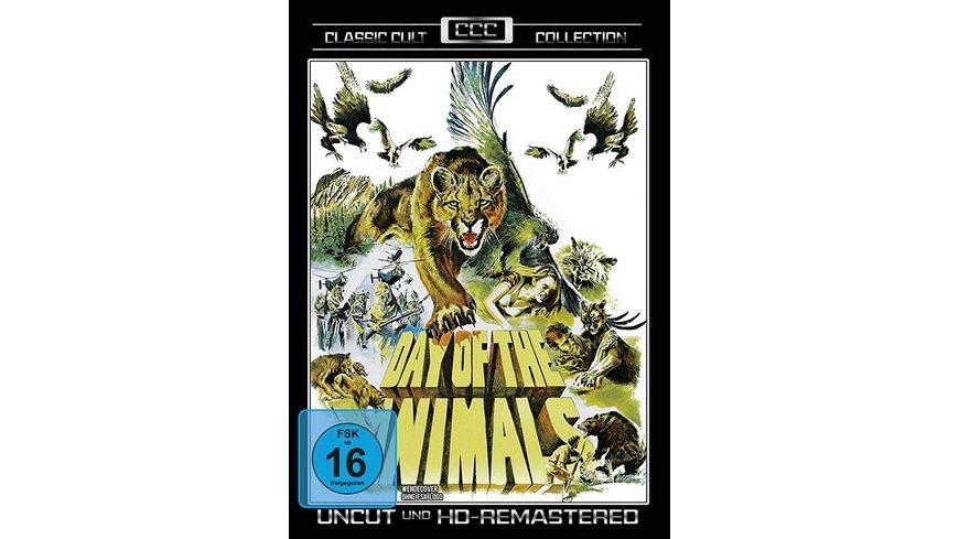 Day of the Animals Classic Cult Collection Uncut HD Remastered