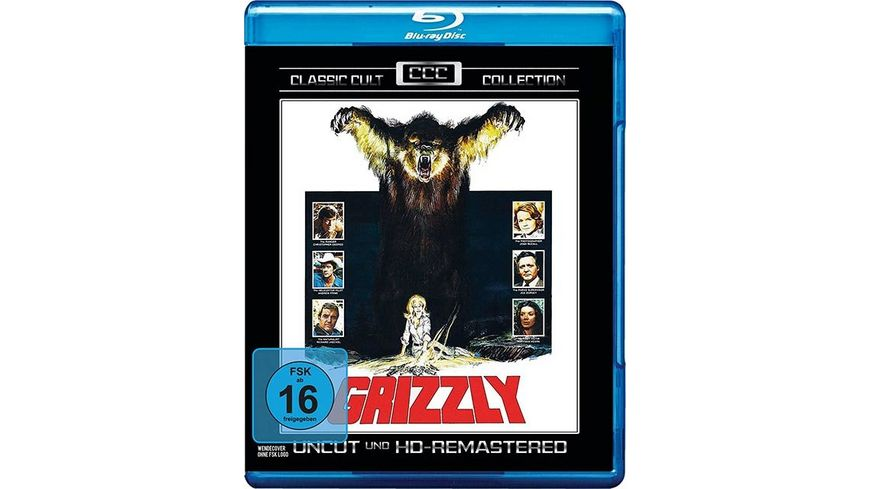 Grizzly Classic Cult Collection Uncut HD Remastered