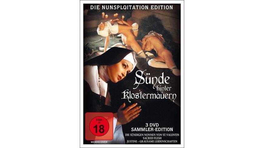 Suende hinter Klostermauern Die Nunsploitation Edition 3 DVDs