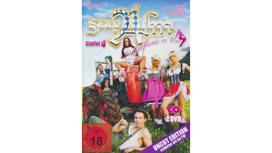 Sexy Alm Girlfriends on Tour Staffel 4 Uncut Edition 2 DVDs