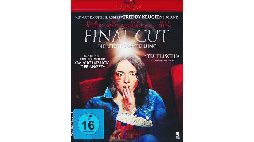Final Cut Die letzte Vorstellung