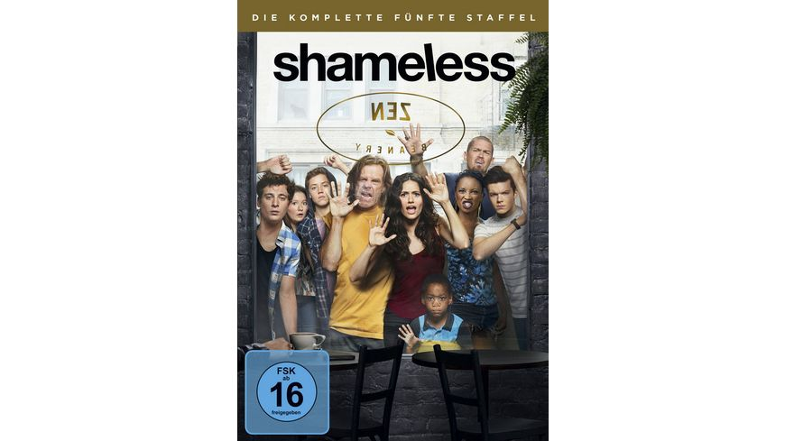 Shameless Staffel 5 3 DVDs